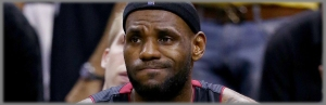 LeBron confused banner